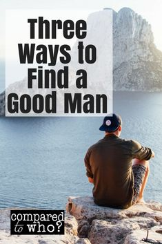 find the right one? Here are three ways to find a good man.Ready to find the right one? Here are three ways to find a good man. How To Get A Guy To Like You- First Date Tips For How To Be Attractive To A New Man Relationship Bases, Relationships Love, Relationship Advice, Healthy Relationships, Christian Dating, Christian Women, Christian Singles, Online Dating Advice, Dating Tips
