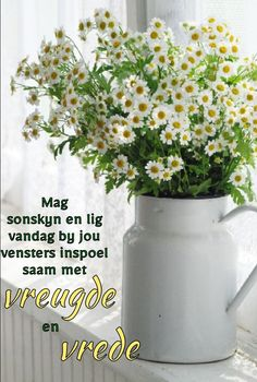 Good Morning Wishes, Morning Messages, Lekker Dag, Afrikaanse Quotes, Angel Prayers, Goeie More, Anniversary Quotes, Language, Wisdom