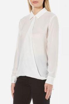 Samsoe & Samsoe Women's Emilia Shirt - Clear Cream - M https://modasto.com/samsoe-samsoe/kadin-ust-giyim-gomlek-bluz/br34482ct4