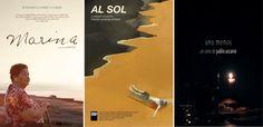 Tres nuevas incorporaciones al catálogo. Las presentaremos con calma en septiembre, pero aquí están sus títulos y carteles. ¡Bienvenidos!
