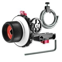 66.36$  Watch now - http://alicee.shopchina.info/1/go.php?t=32817800500 - Neewer A-B Stop Follow Focus with Gear Ring Belt for Canon/Nikon/Sony/other DSLR Camcorder DV Video Fits 15mm Rod Film Making  #buyonline