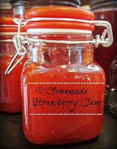 Homemade Strawberry Freezer Jam Recipe