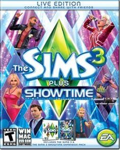The Sims 3 Plus Showtime WINDOWS $37.99 Amazing Discounts Your #1 Source for Video Games, Consoles & Accessories! Multicitygames.com Click On Pins For More Info
