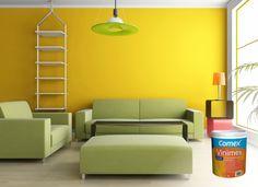 Vinimex te ofrece calidad, rendimiento, alto poder cubriente y más de 1400 colores para embellecer tu hogar. ¿Ya lo probaste? #ProductosComex #Home #Deco #Ideas #DIY #Comex