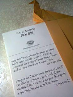 Bookmard Bird and Poetry.