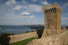 Populonia - Baratti Gulf from the Castle