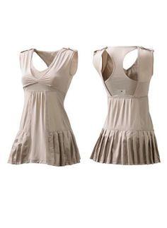 Tres Chic ADIDAS by STELLA McCARTNEY Tennis WHITE Performance Dress