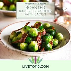 There is nothing better than a Brussels sprout seasoned with BACON. The flavors work brilliantly together. Brussels sprouts kill more cancer cells than any other crucifer. So, let's cook them and eat up! Get the recipe here: http://bit.ly/RoastedBrussels1