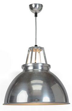 Titanic Pendant Light Aluminium - £273.00 - Hicks and Hicks