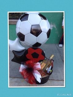 Detalle Soccer Banquet, Surprise Box, Candy Bouquet, Chocolate Strawberries, Balloon Decorations, Gift Baskets, Fathers Day Gifts, Party Favors, Diy And Crafts
