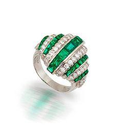 oscar heyman & brothers | c5e0ca125cd+ring.jpg An OSCAR HEYMAN emerald ring