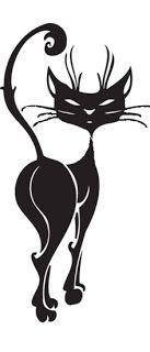 Коллекция картинок: Трафареты кошек
