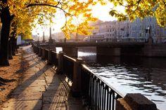 Осень в Санкт-Петербурге