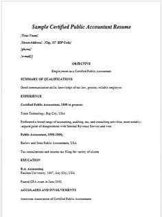 17 best accounting resume samples images resume examples rh pinterest com