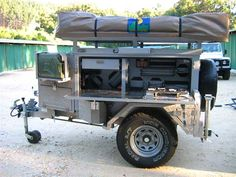 Extreme Trailers | 1650 Extreme Off Road Trailer Gallery | Alu Predator Off Road Trailers ...