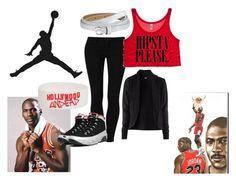 """Air Jordan 9 ""Kilroys"""" by milankscott ❤ liked on Polyvore featuring ESPRIT, H&M, LOFT, sneakers, air jordan 9, kilroys, michael jordan, 23 and shoe game"