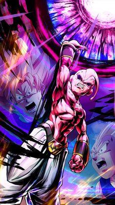Future Evil Buu, the future counterpart of Evil Buu Dragon Ball Z: Shin Budokai - Another Road. Super Buu, the result of Evil Buu absorbing good Buu. Dragon Ball Gt, Dragon Ball Image, Image Dbz, Majin Boo Kid, Buu Dbz, Dragon Ball Z Iphone Wallpaper, Super Anime, Animes Wallpapers, Fanart