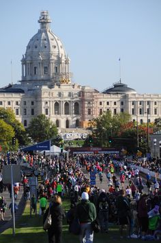 Twin Cities Marathon!! This Sunday Oct 7. Oddly exhilerating, even if you're not running...    https://www.tcmevents.org/ for more info