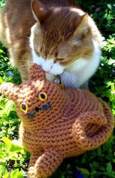 Free Cat Patterns to Crochet | Curly Girl's Crochet Etc.