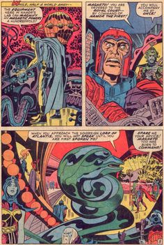Fantastic Four 102 - art by Jack Kirby & Joe Sinnott