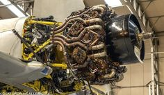 A Pictorial record of aircraft based at, under restoration or operating in and out of Duxford Aircraft Engine, Ww2 Aircraft, Military Aircraft, Bike Engine, Jet Engine, Mechanical Art, Mechanical Design, Radial Engine, Focke Wulf