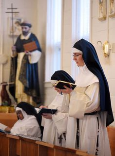 Behind a wall, the nuns of St. Jude Monastery In Marbury, AL, lead a quiet life of prayer - This is an interesting article with many pictures to give you a glimpse into the life of a beautiful monastery of Dominican nuns.
