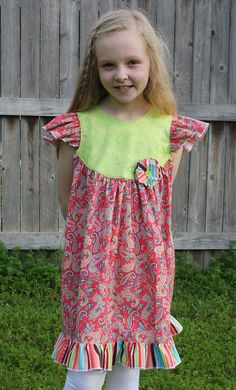 Paige Paisley Dress by fluffygirlboutique on Etsy, $48.99