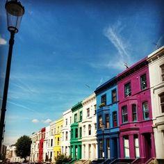Portobello Road, Notting Hill. #london #travel #nottinghill