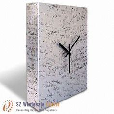Cool idea. Make a clock on the empty canvas and then show how to remove hands so everyone can sign it (wedding, sporting event, reunion, any gatheriing of friends and family) and replace handles.