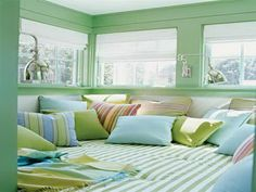 blue and green color scheme | Blue and Green Paint Combinations for Your Room Decorations | MapSoul