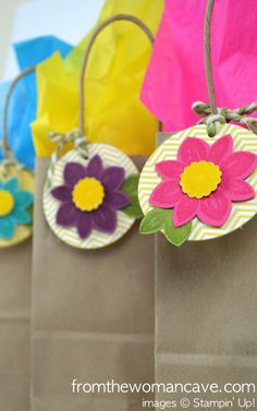 Petal Potpourri Gift Tags - Stampin' Up!