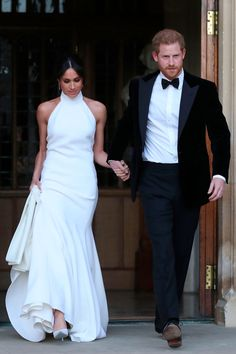 Stella McCartney's Sketch of Meghan Markle's Sexy Reception Dress Is Just as Jaw-Dropping!