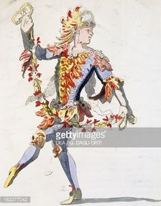 Triton's costume for ballet of King Louis XIV, Design by Jean Berain, 18th century