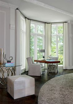 Jeffrey King Interiors Bloomfield Hill, MI Renovation Single Family Home Traditional/Contemporary Bloomfield Homes, Beautiful Interiors, Home Interior Design, Dining Bench, Home And Family, King, Contemporary, Single Family, Spaces