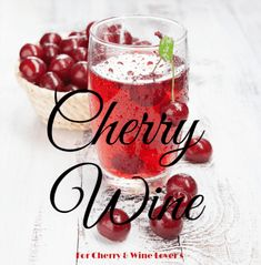 Cherry Wine Recipe: How to Make it in 4 Easy Steps - Food and drink - Wein Homemade Wine Recipes, Drink Recipes, Homemade Wine Making, Homemade Cider, Homemade Alcohol, Beer Recipes, Alcohol Recipes, Canning Recipes, Cherry Wine