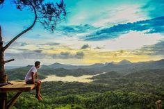 Kalibiru, Tempat Wisata Baru di Jogja Yang Memberikan Pengalaman Melihat Keindahan Perbukitan dari Atas Pohon - http://www.dakatour.com/kalibiru-tempat-wisata-baru-di-jogja.html