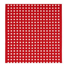 This album started here.  Red, white dots HILDIS - IKEA