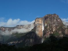 Amazing and the Highest Waterfall in the World