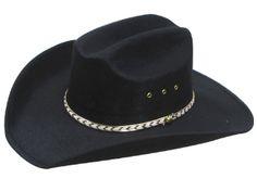 black cowboy hat for groomsmen.