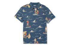 Polo Ralph Lauren Surf Print Polo Shirt