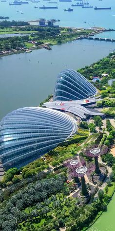 New York Discover Singapore Singapore Singapore Singapore Garden, Singapore Botanic Gardens, Singapore Singapore, Singapore Travel, Futuristic Architecture, Amazing Architecture, Luxury Travel, Travel Usa, Gardens By The Bay