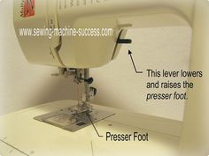 Sewing for Beginners - Free Sewing Machine Instructions
