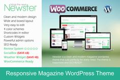 Check out Newster – WP Magazine Theme by ThemsCampus on Creative Market