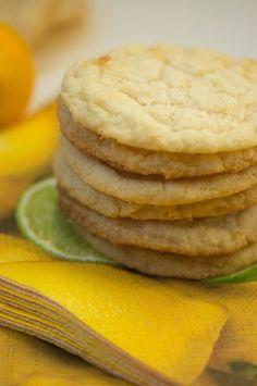 Easy Meyer Lemon Shortbread Cookies by Keep It Sweet Meyer Lemon Recipes, Lemon Dessert Recipes, Sweet Desserts, Just Desserts, Cookie Recipes, Lemon Shortbread Cookies, Cookie Dough, Sweet Tooth, Gluten