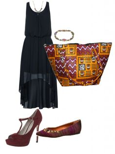 Summeroutfit with the traditional african shopper bag Shopper Bag, African Fashion, Wax, Summer Outfits, Traditional, Image, African Attire, Accessories, Summer Clothing
