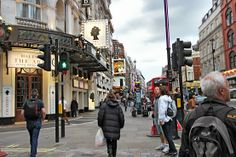 London's Theatre district radiates from the center of Piccadilly Circus in the city's West End.  Saw CATS here