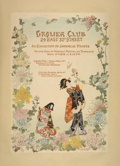 Grolier club. [...] An exhibition of Japanese prints. From New York Public Library Digital Collections.