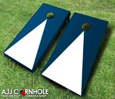 Pyramid Cornhole set! Great for outdoor fun! Order yours at www.ajjcornhole.com