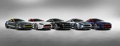 Aston Martin V8 Vantage GT line-up