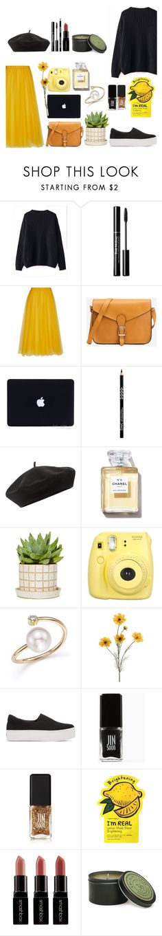 """🐣🐤🐥🕸🕸🕸"" by soojinchoi ❤ liked on Polyvore featuring WithChic, Rochas, Accessorize, Fujifilm, ZoÃ« Chicco, Opening Ceremony, JINsoon, Charlotte Russe, Smashbox and Archipelago Botanicals"